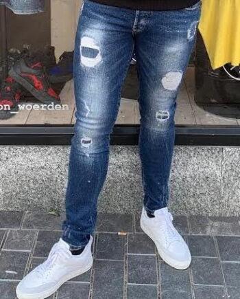 Denim Destroyed GHOST Jeans