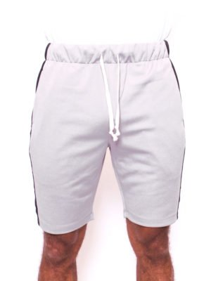 Grey/Black Trackshort Radical - korte grijszwarte broek