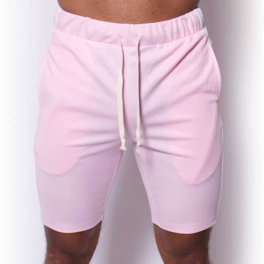 Pink White Trackshort Radical