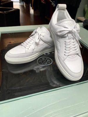 luzerno white leather sneakers