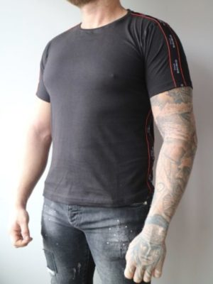 Black with red Tee MLLNR