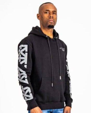Black Reflect Hoodie XPLCT - zwart reflecterend