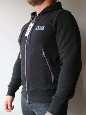 Black Ekiwa Vest - zwart vest