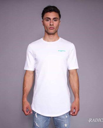 White/Blue Lucio Melting Gun Tee Radical - wit met blauw shirt