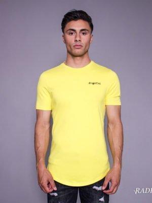 Yellow Lucio Melting Gun Tee Radical - geel T-Shirt