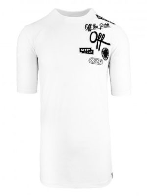 White Show Off Tee OTP - wit lang shirt