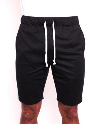 Black Fluro Trackshort Radical - korte zwarte broek