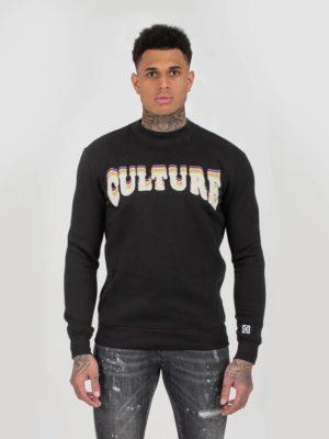 Black Culture Sweater XPLCT - zwarte trui met afbeelding