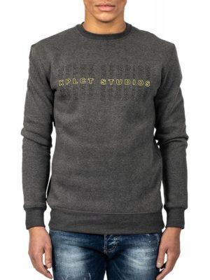 Grey XPLCT Studios Sweater