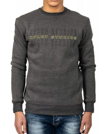 Grey XPLCT Studios Sweater