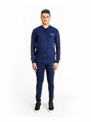 Navy Maison Suit XPLCT Marineblauwe set