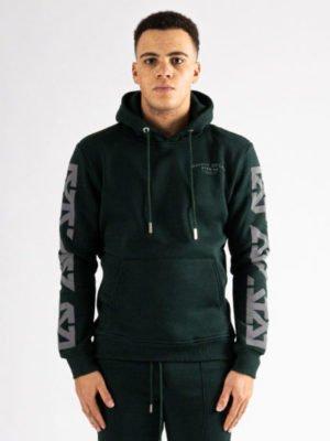 Green Reflect Hoodie XPLCT - groen reflecterende hoodie