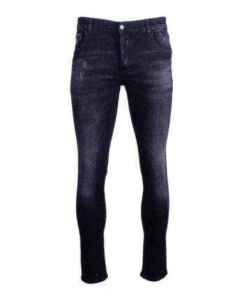 afbeelding van voorkant zwarte Radical jeans