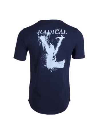 Blue/Lightblue Melting Gun Tee Radical - blauw shirt