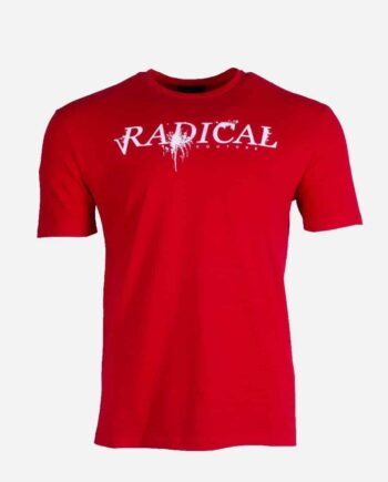 Red Elio Melting Red Radical - rood T-shirt