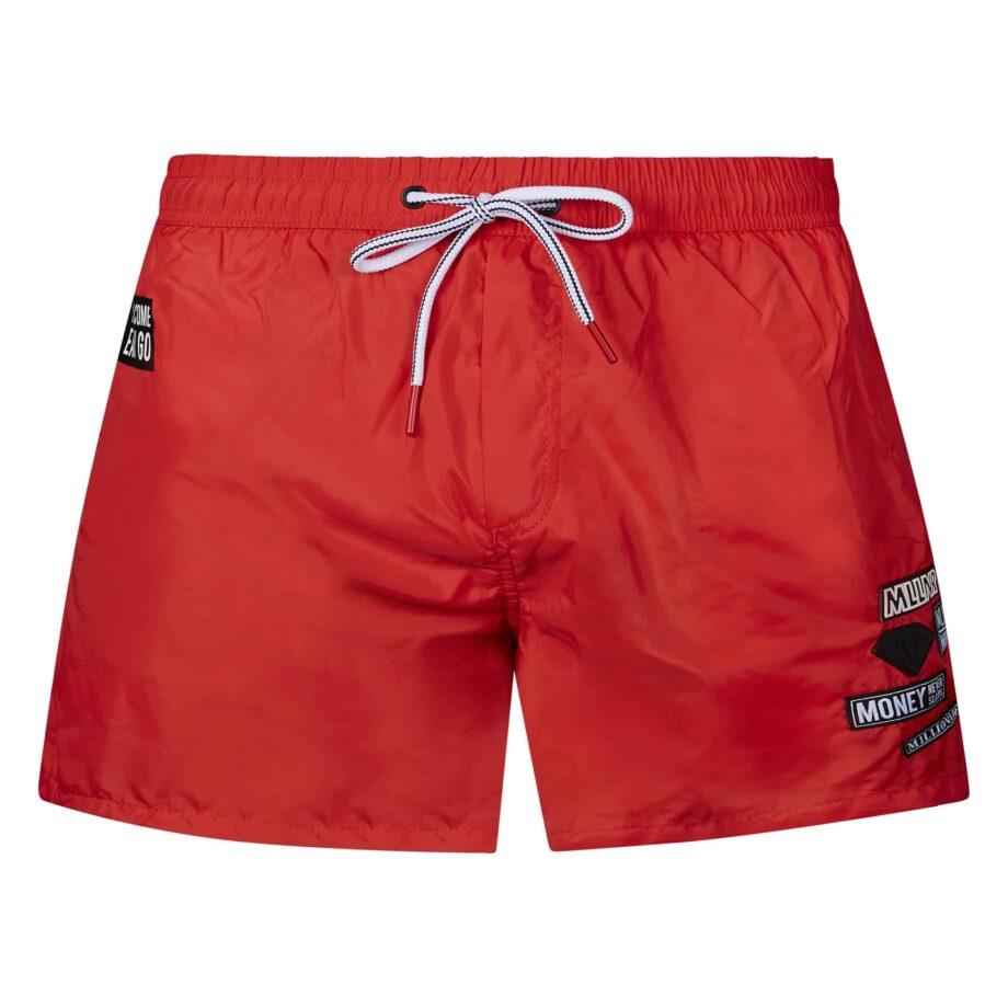 Red Liam Swimshort MLLNR