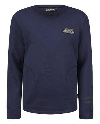 Blue Arthur Sweater MLLNR - blauwe trui