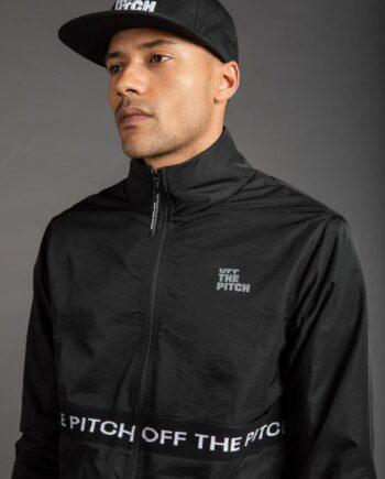 OTP Black Hero Jacket - zwarte jas van Off The Pitch