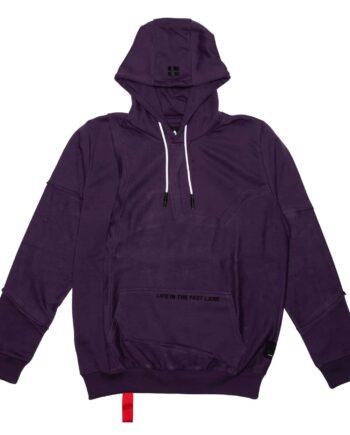 Purple Inside Out Hoodie