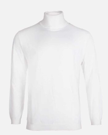 Off White Brando Turtleneck Radical - gebroken witte coltrui