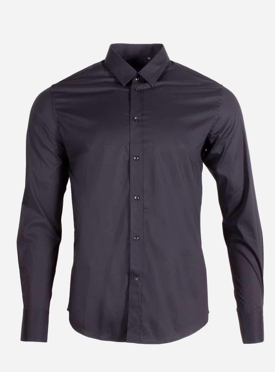 Black Davide Shirt Radical - zwarte nette blouse