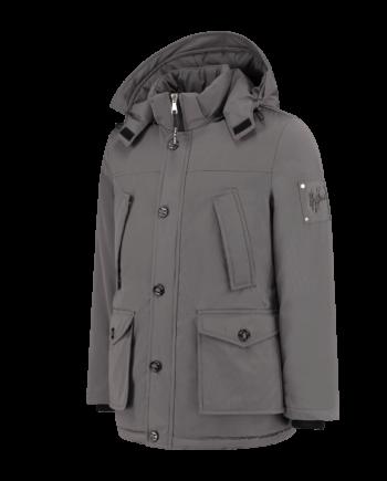 Malelions Grey Parka - grijze winterjas