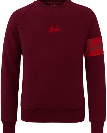 Malelions Red Captain Crewneck
