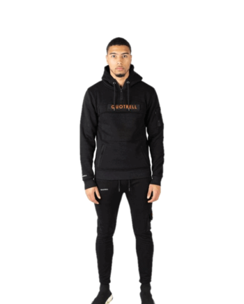Comfortabele tracksuit Black Marshall Quotrell