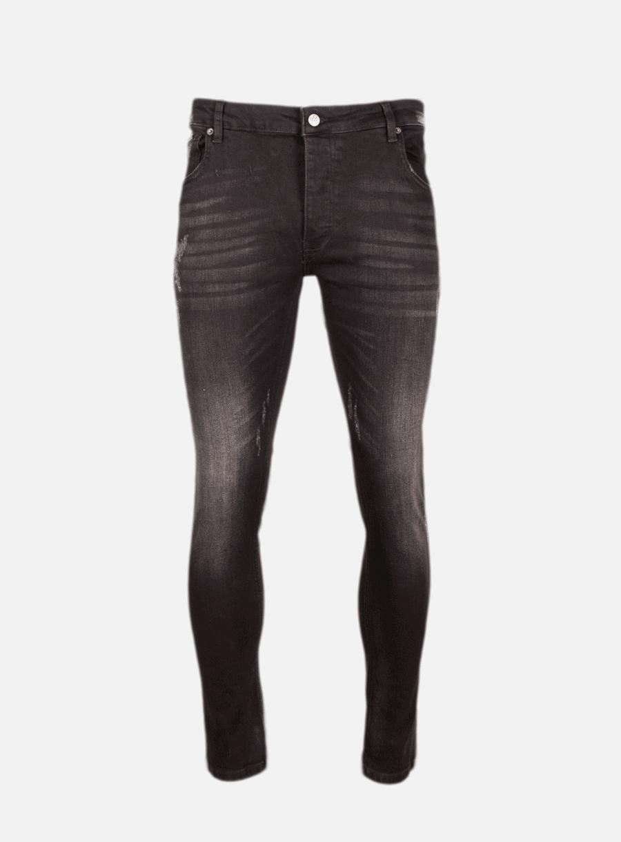 Black/White Spot Dwayne Jeans