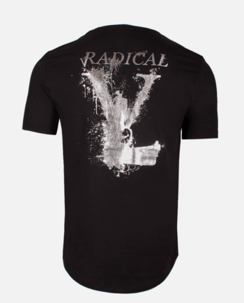 Black/Silver Lucio Melting Gun T-Shirt Radical