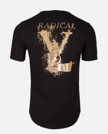 Black/Gold Lucio Melting Gun T-shirt Radical