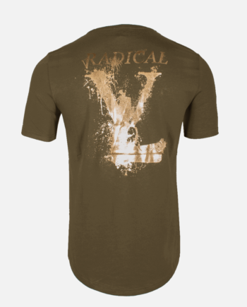 Armygreen/gold Lucio Melting Gun T-shirt Radical